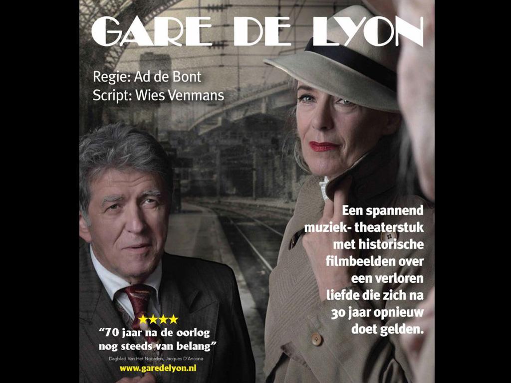 Jet Van Der Meij & Bartho Braat: Gare De Lyon